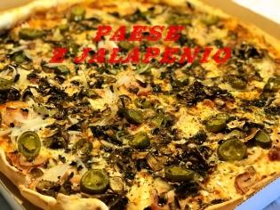 Paese z jalapenio 40cm pizza