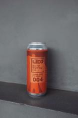 Leo Barrel brewing Co. Barrel aged Rye sour ale