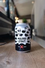 Ten Men Moloko (Milk stout)
