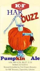 K&F Har buzz (Pumpking Ale)