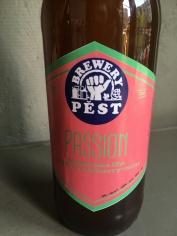 Pest brewery Passion (Milkshake IPA with strawberry + mint)