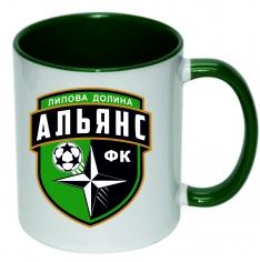 Чашка з логотипом ФК Альянс