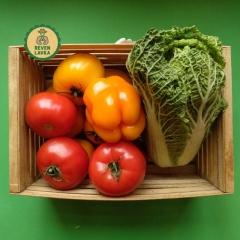 Овочі, фрукти та зелень