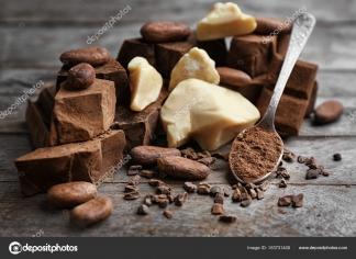Вироби з какао бобів