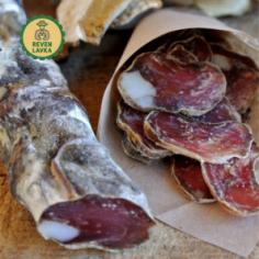 Ковбаса сиров'ялена пальцьопхана