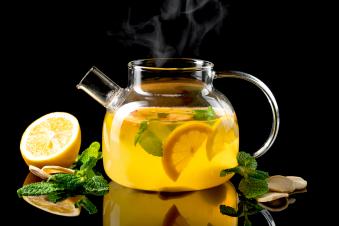 Чай зелений з імбирем та медом 1,6