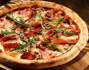 Піца з прошуто 50 см
