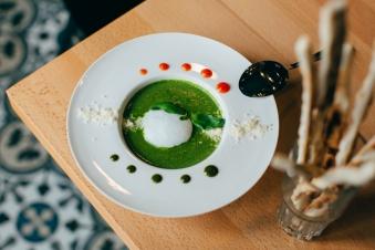 Суп-крем зі шпинату 250г