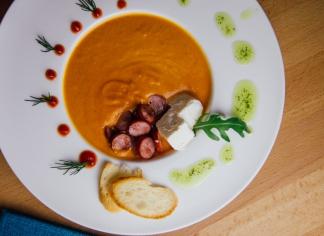 Томатний суп-крем 300г