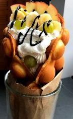 Вафля фруктова