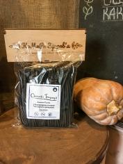 Локшина рисова з виноградною кісточкою та чорним кунжутом (300 грам)