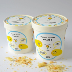 Морозиво молочне