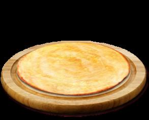 Основа з соусом песто, сир моцарела 34