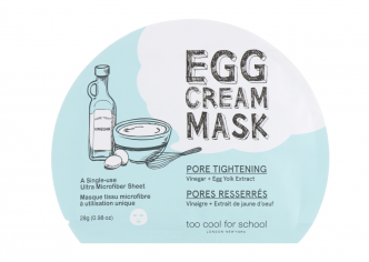 Too Cool For School Egg Cream Mask Pore Tightening