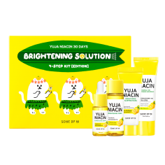 Some By Mi Yuja Niacin 30 Days Brightening Solution 4 Step Kit