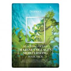 Deoproce Blooming Ocean Marine Collagen Moisturizing Mask Pack