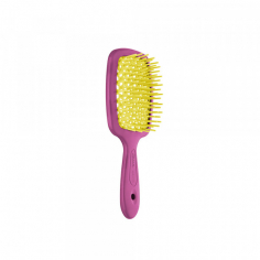 Щітка для волосся Janeke Superbrush SMALL PINK-YELLOW