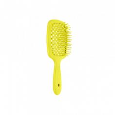 Щітка для волосся Janeke Superbrush SMALL NEON YELLOW