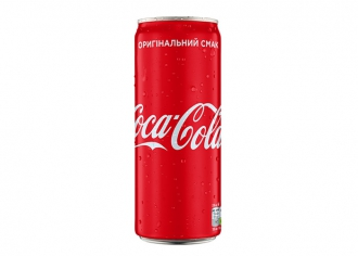 Кока-Кола ж/б (0,33л)
