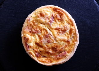 Киш на сливках с беконом / Quiche au bacon