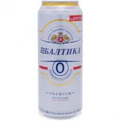 Пиво Балтика №0 б/о 0,5