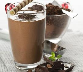 шоколадний мілк шейк