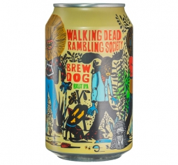 Walking Dead rambling society, BrewDog 0,33