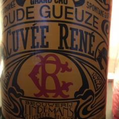 Gueuze Cuvée René, Lindemans(0,375) бут.