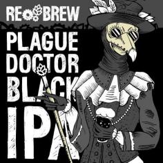 ReBrew Plague Doctor Black IPA (1л)