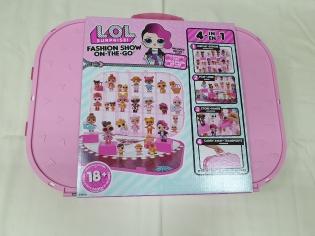 Набір LOL Кейс для ляльок з ексклюзивною лялькою