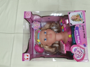 Лялька-манекен для зачісок Styling Head