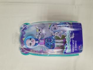 Лялька Enchantimals Winsley wolf s trooper