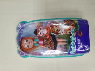 Лялька Enchantimals Tanzie tiger s Tuft