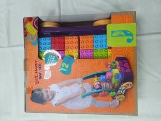 Конструктор для малюків з візком Diy happy walker