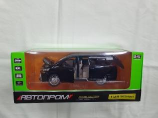 Авто Автопром  1\24 Toyota Alphard звук і світло