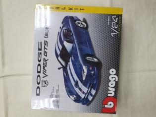 Автоконструктор 1\24 Dodge Viper GTS