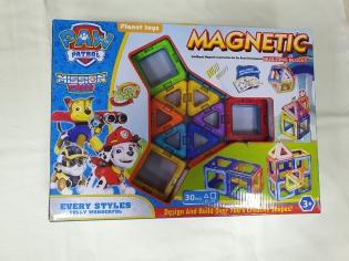 Магнітний конструктор Magnetic