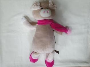 Іграшка мяка Свинка з шарфом