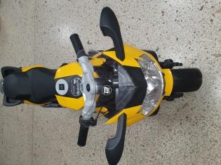 Мотоцикл на аккумуляторі .