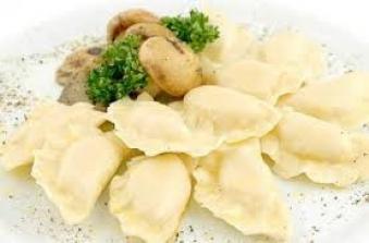 Вареники картофель-грибы