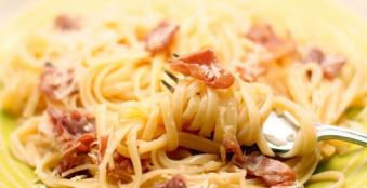 Спагетти (карбонара)