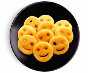 Картофельные смайлики