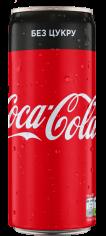 Напій Coca-Cola Zero 0.33л