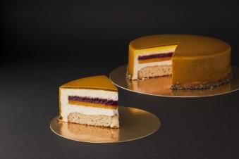Мусовий торт кокос-манго