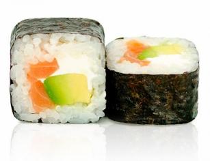 Футомакі з лососем (190г)