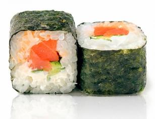 Футомакі з копченим лососем (192г)