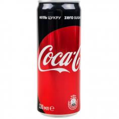 напій Кока-Кола зеро ж/б 0,33л