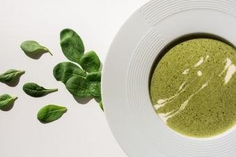 Шпинатний крем-суп