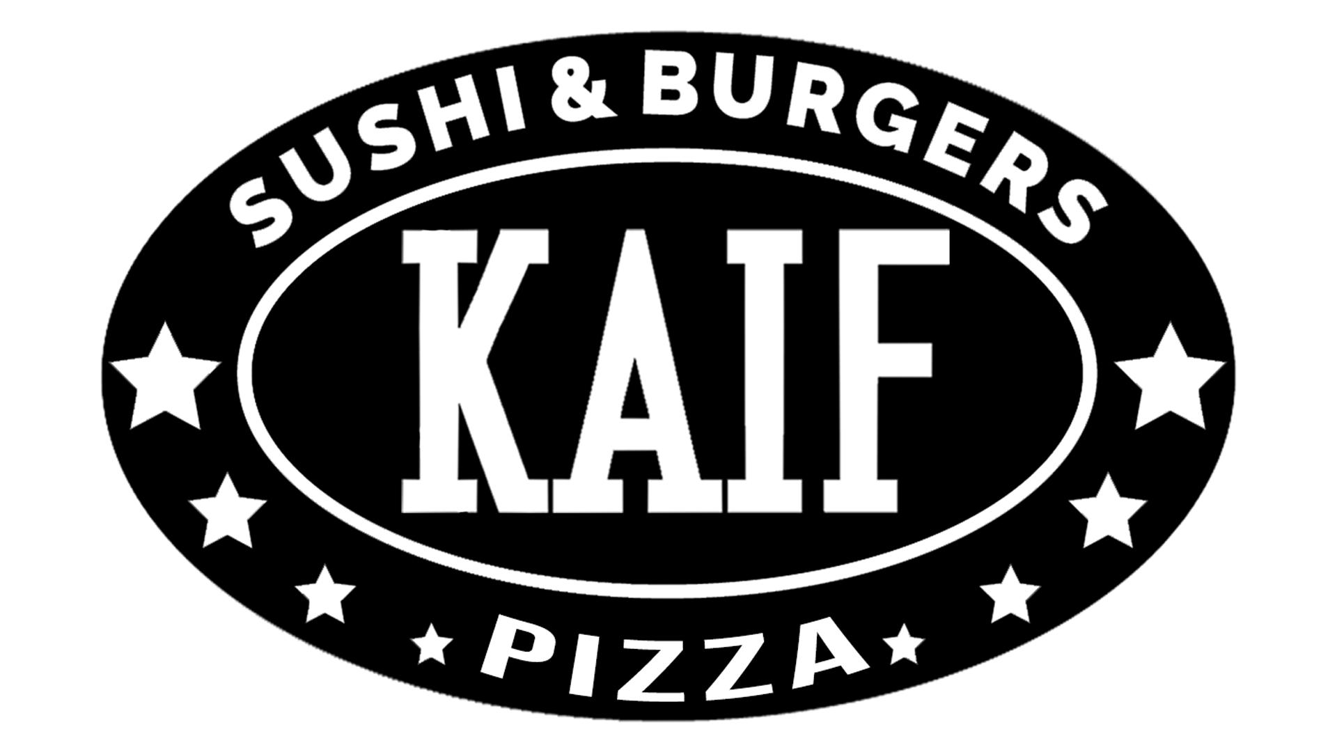 Ресторан KAIF - доставка лучших ролов, суши, пиццы, бургеров, WOK