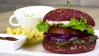 Red Burger Set
